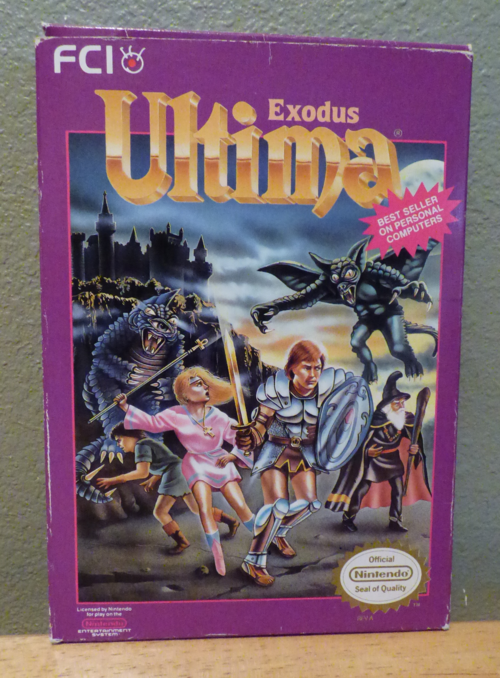 Ultima exodus nes