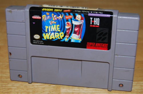 Ren & stimpy time warp snes game