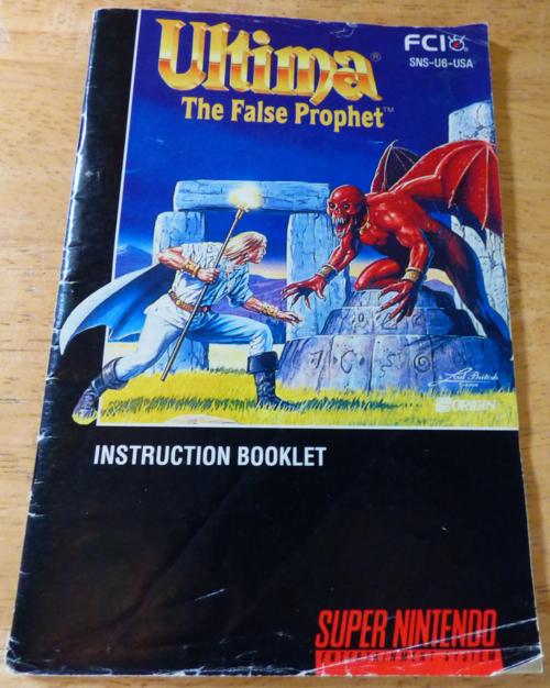 Ultima false prophetguide