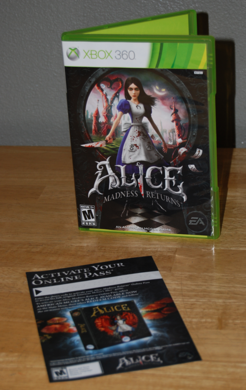 American mcgee's alice madness returns xbox 360
