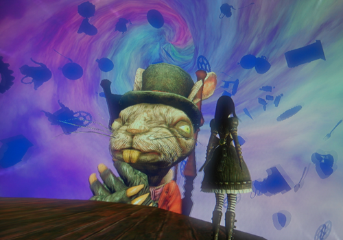 Alice madness returns bren tea party