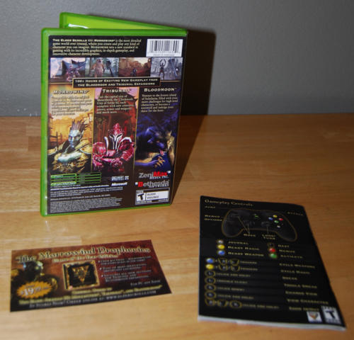 Morrowind xbox 360 1