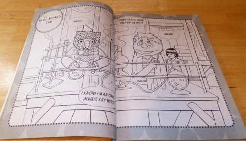Hr pufnstuf coloring book 5