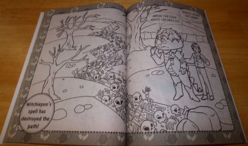 Hr pufnstuf coloring book 14