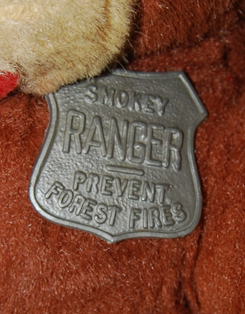 Vintage smokey ranger bear toy 3