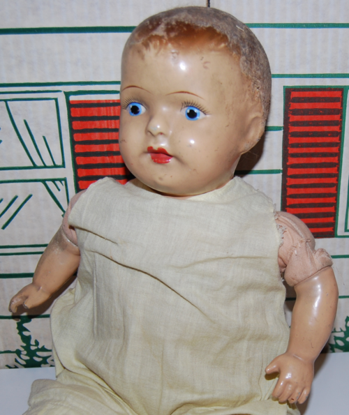 Antique 19 inch am company doll 3