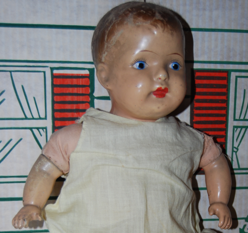 Antique 19 inch am company doll 4