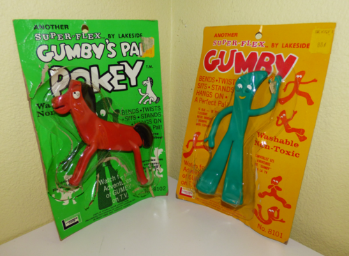 Gumby pokey lakeside bendy toys