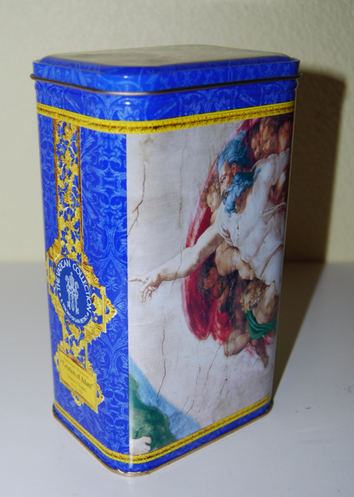 Vatican collection tin