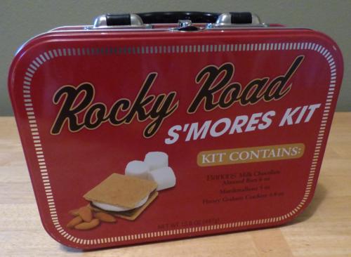 Rocky road smores tin