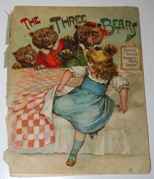Vintage 3 bears book