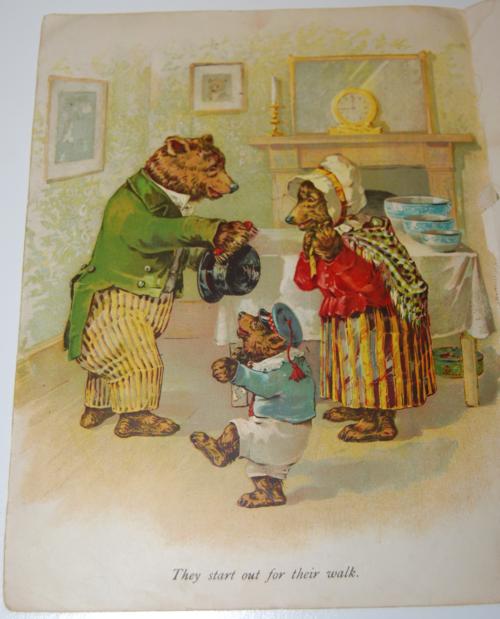 Vintage 3 bears book 1