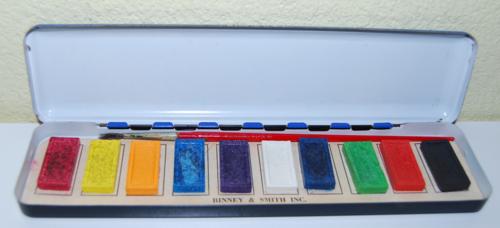 Playtime watercolors tin binney & smith 1