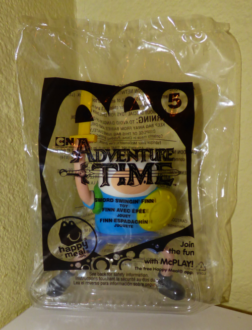 Mcdonalds adventure time happy meal toy 5