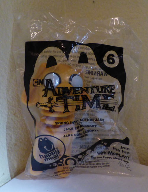 Mcdonalds adventure time happy meal toy 6