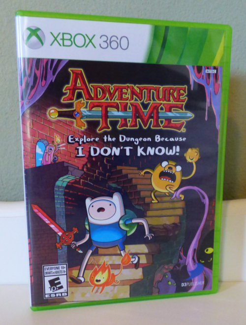 Adventure time videogame xbox 360