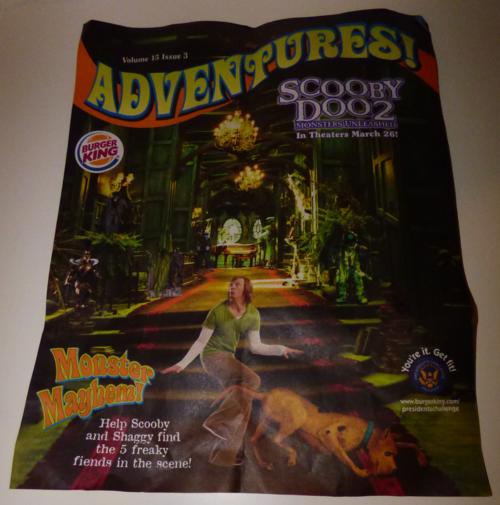 Scooby doo bk flyer