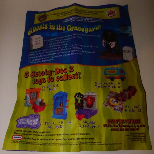 Scooby doo bk flyer 2