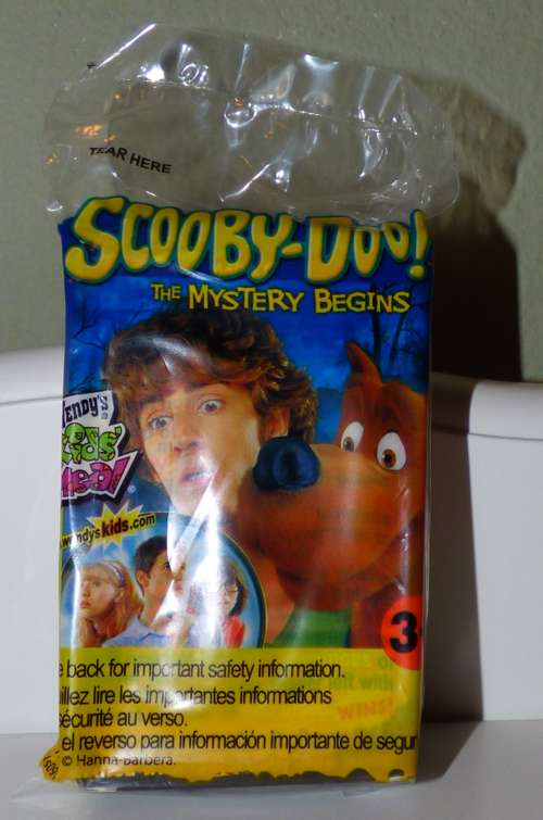 Scooby doo wendy's prizes 8
