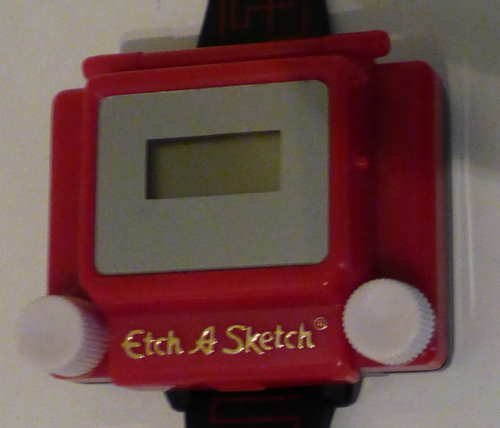 Etch a sketch watch x
