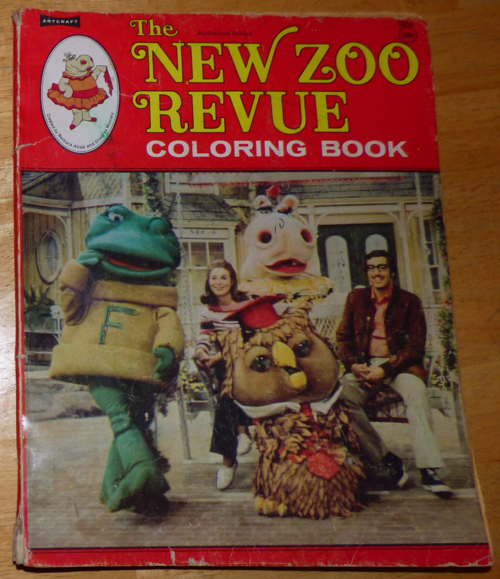 New zoo review coloring book