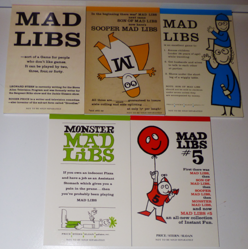 Madlibs 5