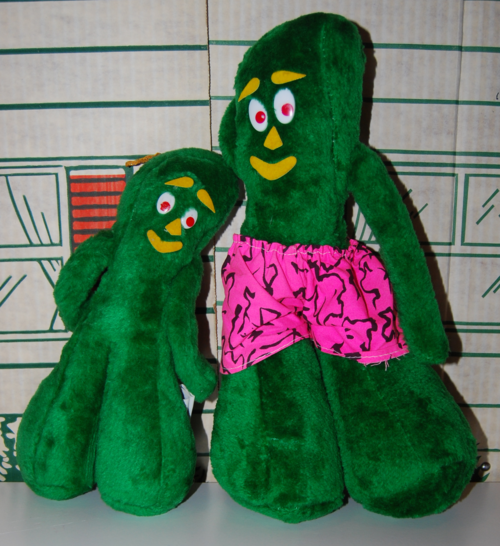 Ace novelty co gumby plush toys