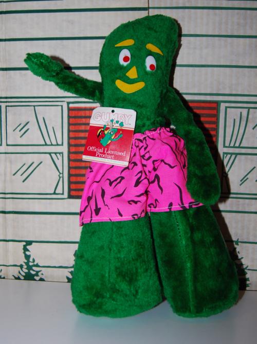 Gumby plush