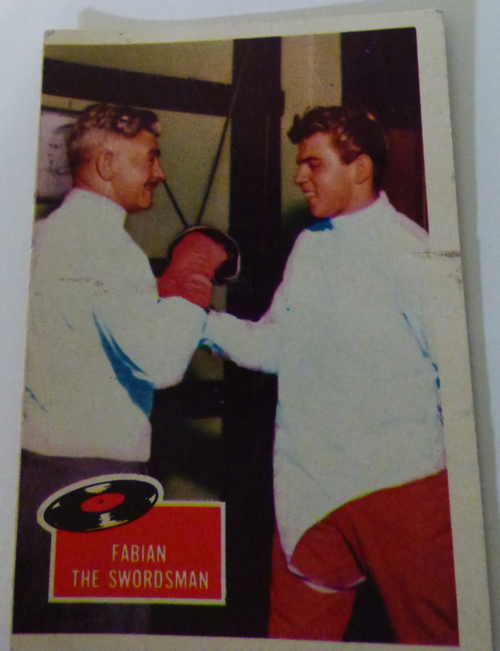Fabian collector card 1964