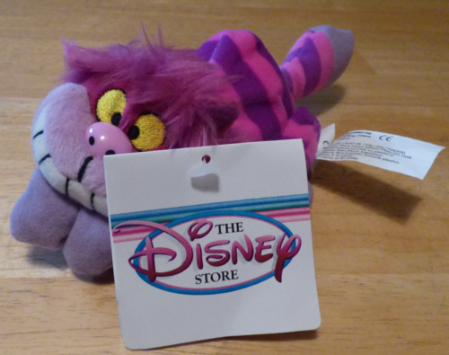 Mini cheshire cat plush 2