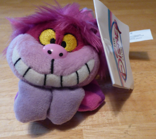 Mini cheshire cat plush