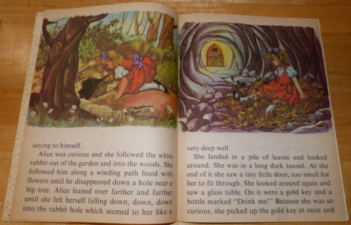 Alice in wonderland learn to read 3
