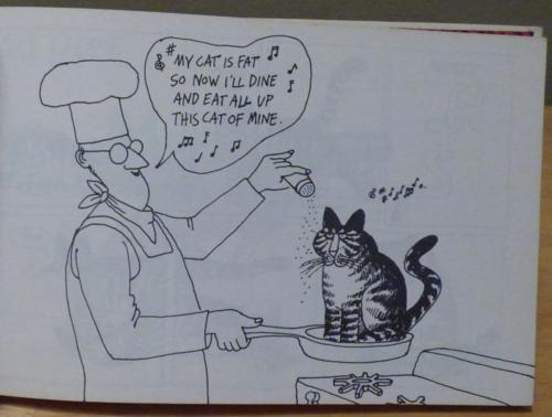 Kliban cat clothback first edition 3