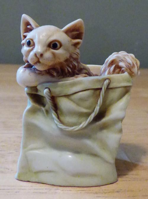 Soapstone kitty