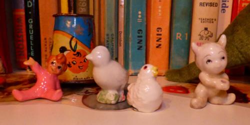 Tiny vintage ceramics 1