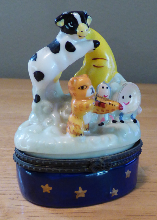 Hey diddle diddle ceramic box 1