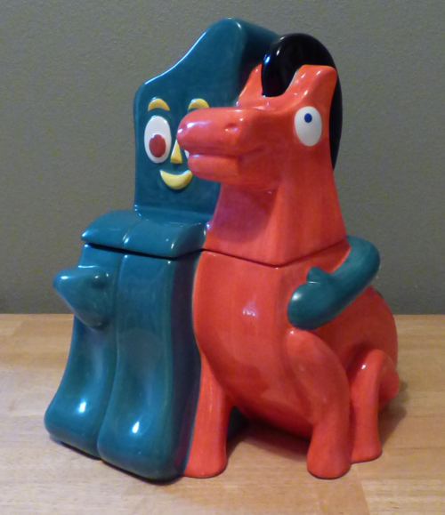 Gumby & pokey cookie jar 4