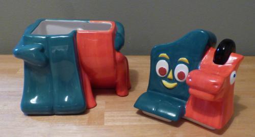Gumby & pokey cookie jar 1