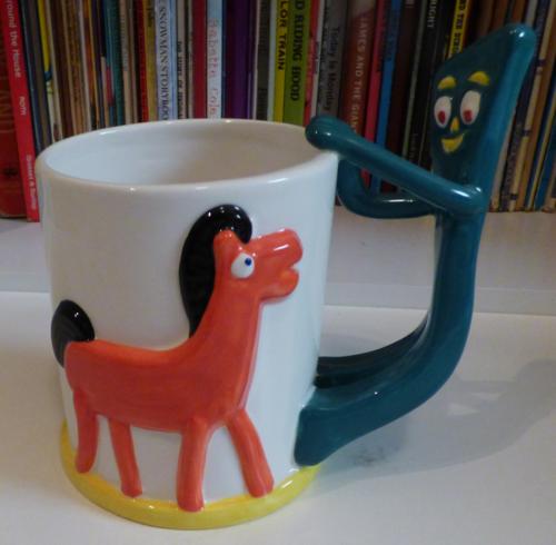 Gumby & pokey cocoa mug 2