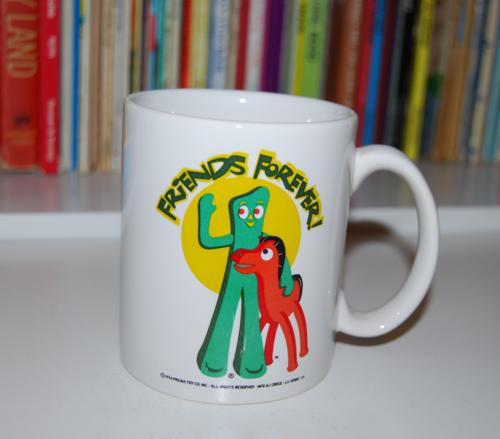 Gumby coffee mug