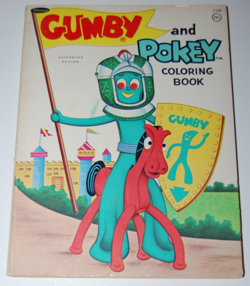 Gumby coloring book whitman