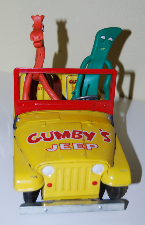 Gumby tin jeep lakeside 6