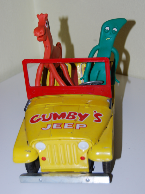 Gumby tin jeep lakeside 7
