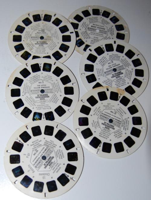 Vintage viewmaster reels 5