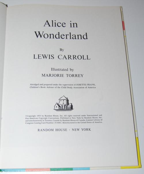 Alice in wonderland 1955 2