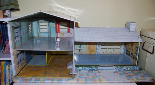 Marx vintage tin house 50s 1