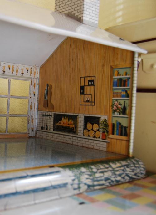 Marx vintage tin house 50s 6
