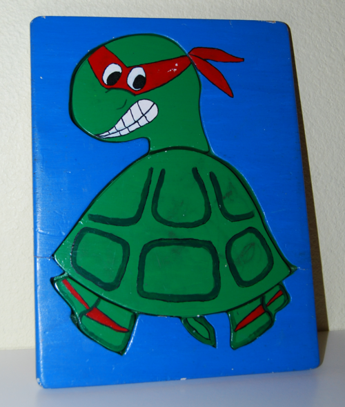 Teenage mutant ninja turtle puzzle