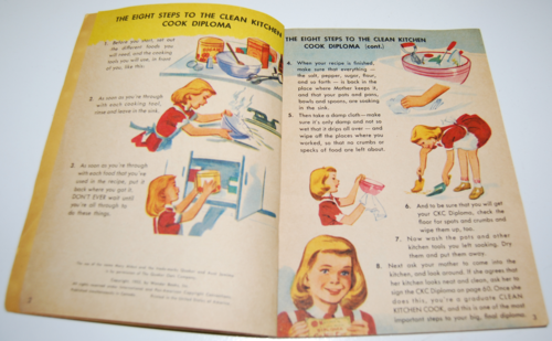 Mary alden's cookbook for children 1955