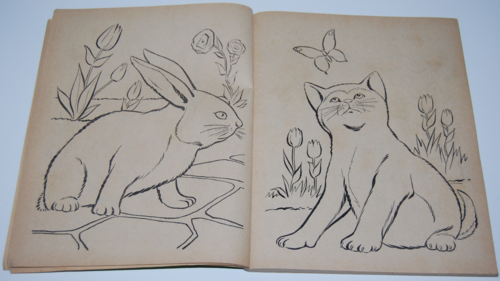 Whitman animals to color 2